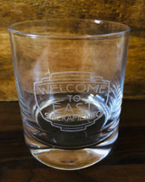 Allie Studio Neighborhood Etched Whiskey Glass--CHOOSE NEIGHBORHOOD