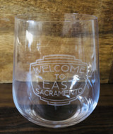 Allie Studio Neighborhood Etched Stemless Wine Glass--CHOOSE NEIGHBORHOOD