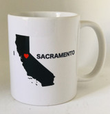 California Heart Mug