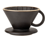 Pour-Over Coffee Drip, Matte Black
