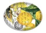 Michel Design Glass Soap Dish: Lemon Basil