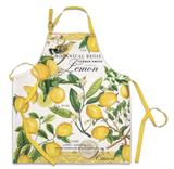 Michel Design Apron: Lemon Basil