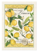 Michel Design Tea Towel: Lemon Basil