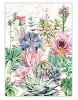 Michel Design Tea Towel: Pink Cactus
