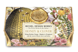 Michel Design Large Bath Soap: Honey & Clover