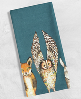 Forest Animals: Tea Towel