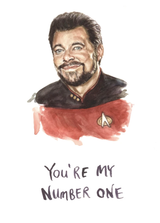 You're My Number One, Blank Greeting Card