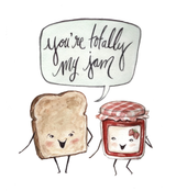 You're My Jam, Blank Greeting Card
