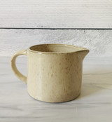 "Stoneware Creamer/Pitcher, 2 1/4"" tall"