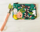 Ambrose Floral Zippered Pouch