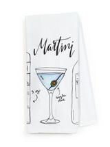 Martini Classic Cocktail Recipe Tea Towel