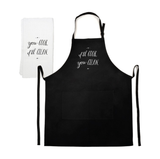 You Cook, I'll Clean Apron & Tea Towel Set