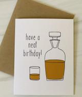 Neat Birthday, Blank Greeting Card