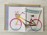 Bicycle Anniversary, Blank Greeting Card