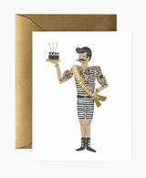 Strongman Birthday, Rifle Paper Co. Blank Greeting Card