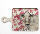 Cow Floral Cheeseboard