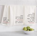 Teacher Sweet Sentiments Tea Towels