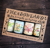 Daydream Collection: Meadowland Simple Syrup Sampler