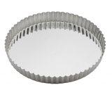 Fluted Quiche/Tart Pan, Removable Bottom