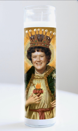 Julia Child Prayer Candle: Kitchen Saint Collections