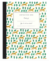 Cheetah Composition Book