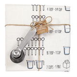 """Measurement Conversions"" Towel & Spoon Set"