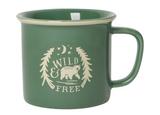 """Wild & Free"" Heritage Mug"