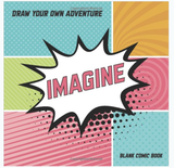 """Imagine"" Blank Comic Book"