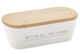 """""""Butter all the Things,"""" Covered Butter Dish"""