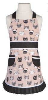 Cats Meow, Sally (Child's) Apron