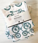 Bicycles Floursack Dishtowels, set/2