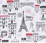Paris Je T'aime, set/2 Dishtowels