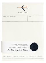 Memorandum Notepad: Airplane