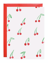 Petite Card: Cherries
