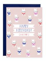 Petite Card: HBD (Meow)
