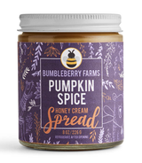 Pumpkin Spice Honey Cream Spread, 8oz