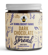 Dark Chocolate Honey Cream, 8oz