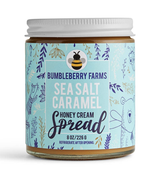 Sea Salt Caramel Honey Cream, 8oz