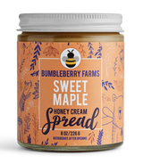 Sweet Maple Honey Cream, 8oz