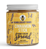 Cinnamon Stick Honey Cream Spread, 8oz