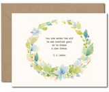 """""""Never Too Old,"""" Blank Greeting Card"""