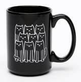 Cats El Grande Ceramic Mug, 15oz