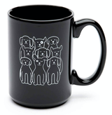 Dogs El Grande Ceramic Mug, 15oz