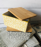 Stoneware Butter Box--CHOOSE COLOR