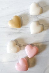 La Lavande Heart Soap--CHOOSE SCENT/COLOR