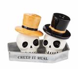 Skull Salt & Pepper Shakers, set/2