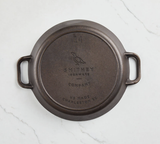 Smithey No. 14 Cast Iron Dual Handle Skillet