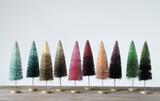 """11"""" Bottle Brush Tree--CHOOSE COLOR"""