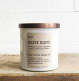 White Birch Soy Candle, 11oz