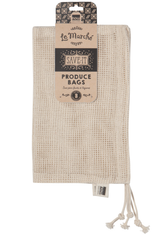 Produce Bags, Cotton Mesh, Set/ 3